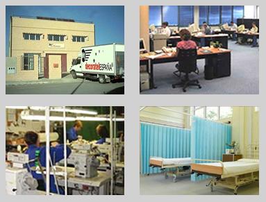 Empresa fabricante de cortinas sanitarias - Decoratel Industrias Textiles